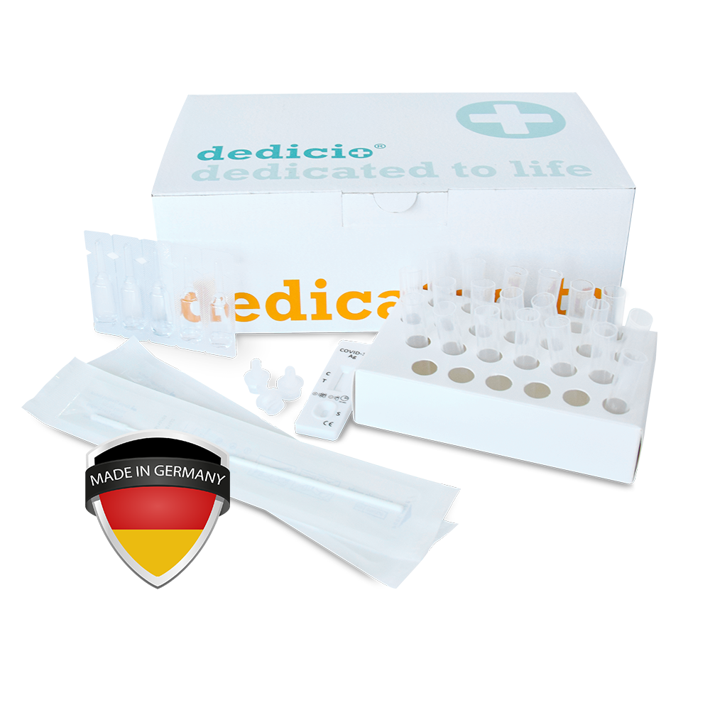 dedicio® COVID-19 Ag plus Test